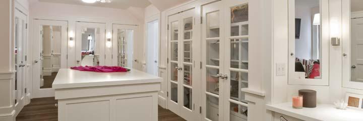 Michael Reel remodeled closet