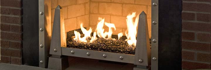 Michael Reel remodeled fireplace photo